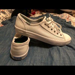 Keds Kickstart Perf Leather Sneakers